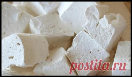 Творожные зефирки - вкусный и полезный десерт за 5 минут (+1 час на застывание)