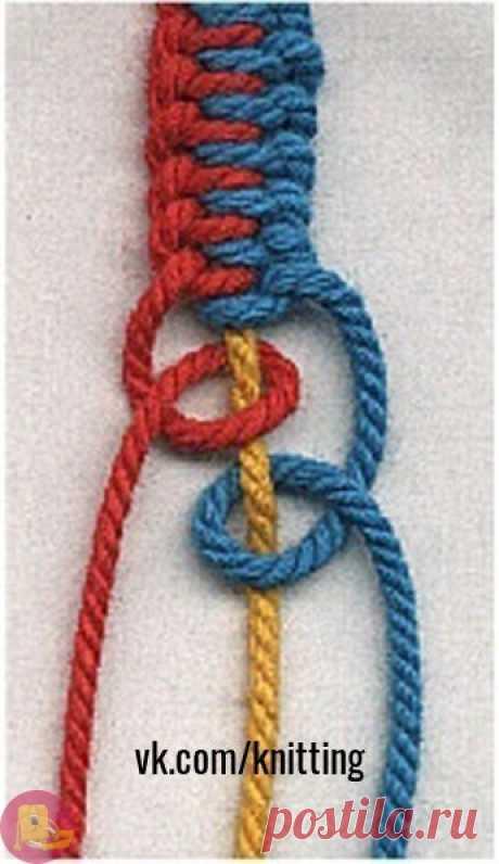 Плетение шнура: мастер-класс