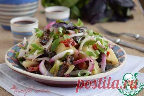 Теплый картофельный салат по-грузински – кулинарный рецепт