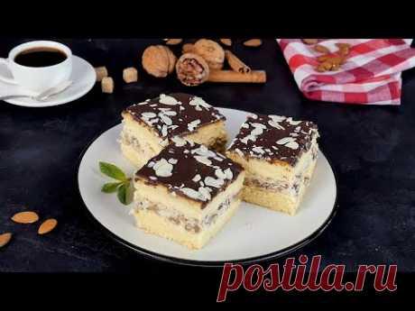 Ореховые пирожные - Рецепты от Со Вкусом