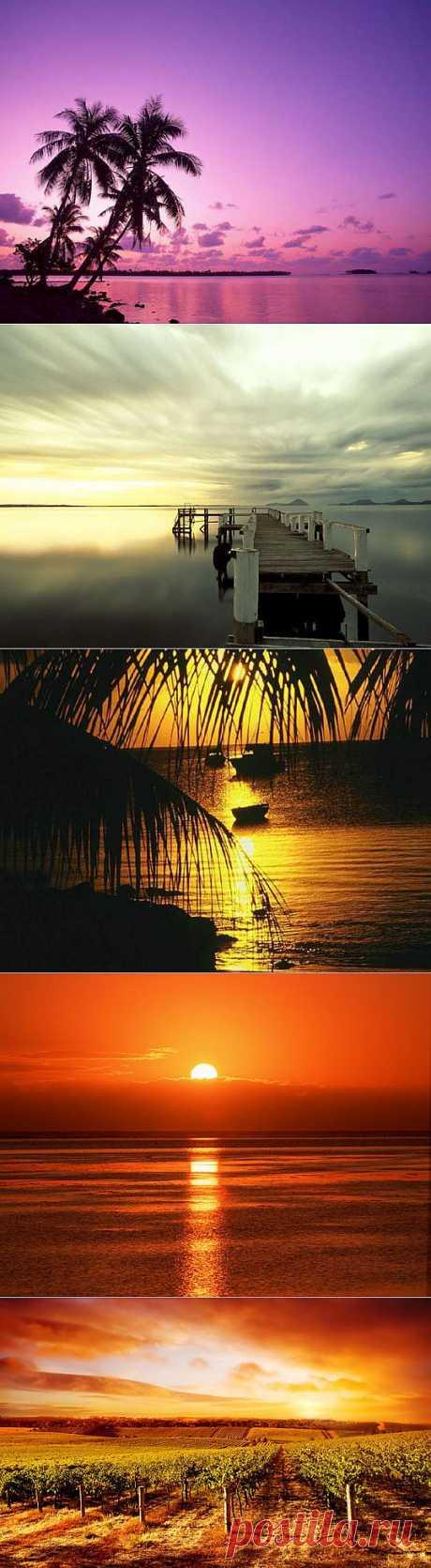 Закат солнца картинки (35 фото) видео