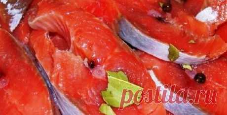 ГОРБУША МАЛОСОЛЬНАЯ «ПОД СЕМГУ» | Самые вкусные кулинарные рецепты