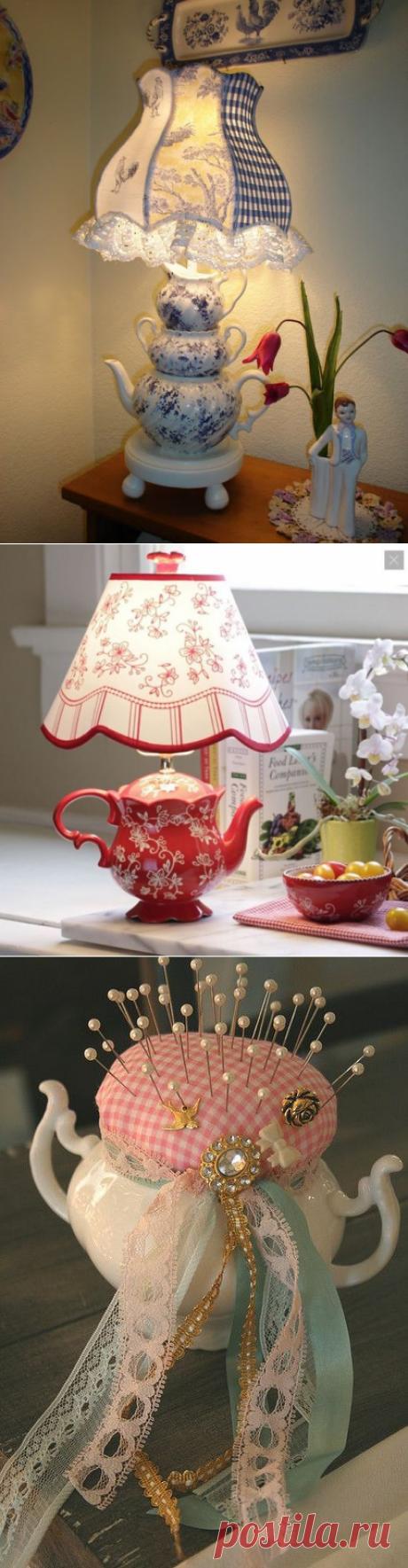 Изумительные идеи использования посуды в творчестве! Вдохновитесь на декор! | Юлия Жданова | Яндекс Дзен