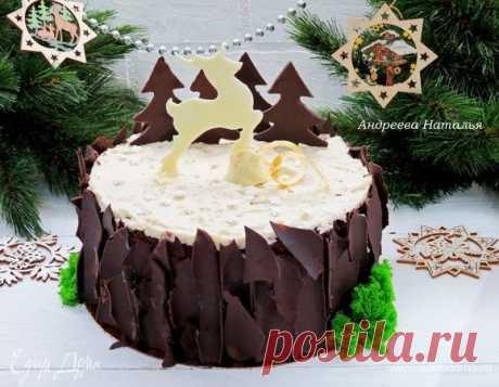 Торт «Черный лес» . Ингредиенты: мука, сливочное масло, сахар