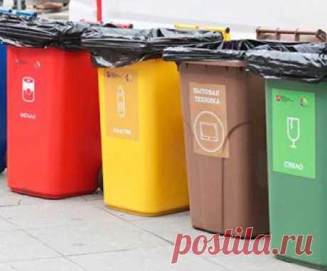 Россиянам снизят тариф за раздельный сбор мусора Россияне с 2019 года смогут меньше платить за вывоз мусора, если будут самостоятельно его сортировать. Дифференцированные тарифы на вывоз бытового мусора могут начать действовать с начала следующего года, говорит замглавы Минстроя Андрей Чибис.