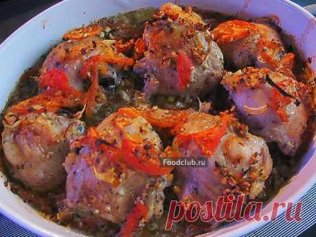 Курица по-провански Вкусное и практичное блюдо. Готовиться очень легко, все продукты можно купить в ближайшем магазине, но получается очень сочное, ароматное и полезное блюдо.