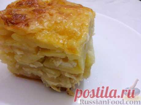 La receta: las Patatas en francés en RussianFood.com