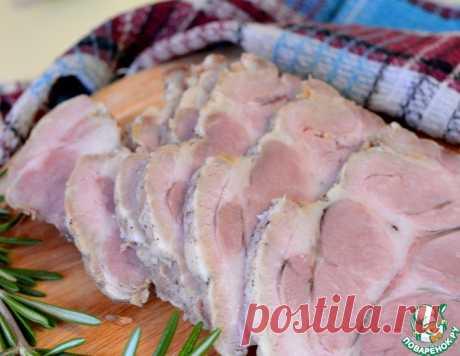 Тушеная свинина в рукаве в мультиварке – кулинарный рецепт