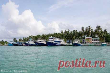 Кудахуваду – столица атолла Даалу, Мальдивы