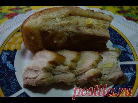 ♥ Мягкое ♥ Невероятно вкусное ♥ Запеченное в духовке сало