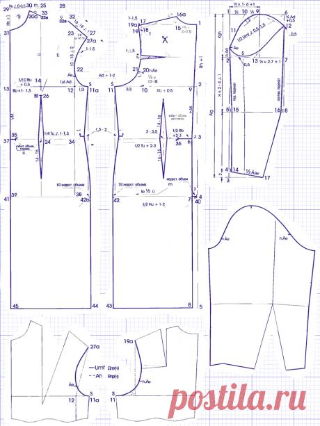 Научитесь правильно делать простые и сложные выкройки шикарных платьев для полных.