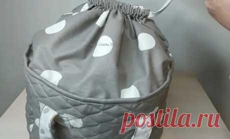 Мастерица сшила классную сумку-трансформер - Идеи для жизни - медиаплатформа МирТесен
