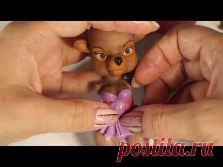 TaleSpin Pin-Up figurine. Чудеса на виражах, Ребекка. Фигурка из полимерной глины.