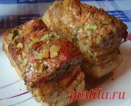 Прослоечка в фольге. Вкуснее любого колбасного аналога | Кулинарный техникум | Яндекс Дзен