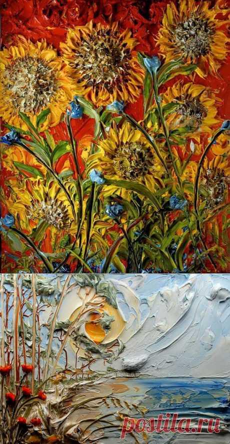 (+1) тема - Шедевры в жанре объемной живописи | Искусство
