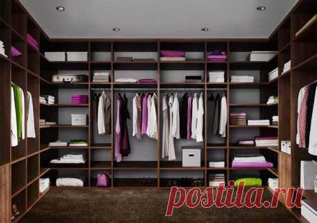 Как правильно обустроить гардеробную дома: несколько полезных советов!