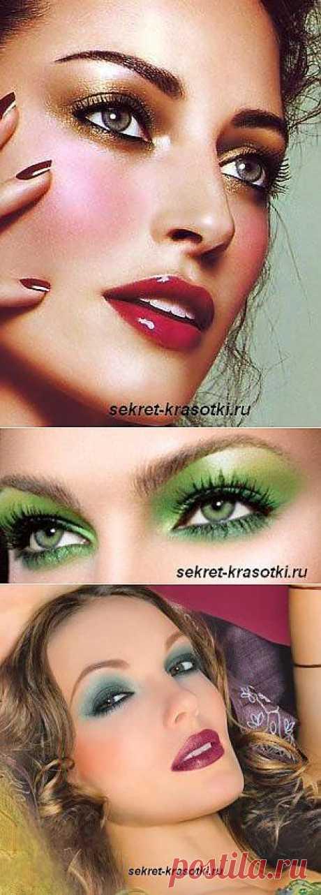 Макияж для широко расставленных глаз | Секрет красотки