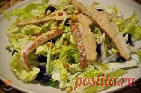 Salad with the Beijing cabbage — the Recipe-book - recipes with a photo
