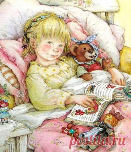 Детские иллюстрации Lisi Martin