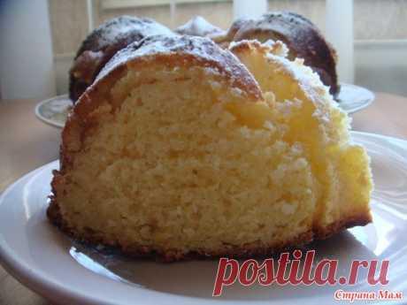 Влажный лимонный кекс - Рецепты для очень занятой мамы - Страна Мам
