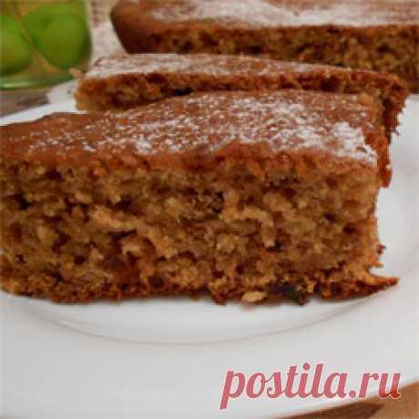Кекс с вареньем - рецепт с фото