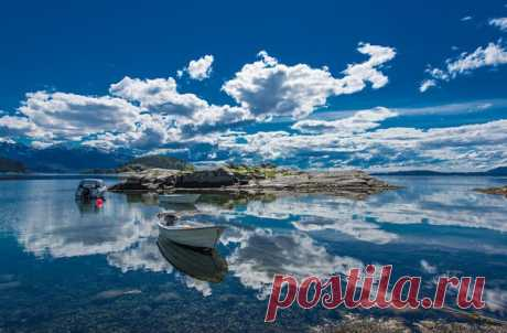 Фото дня. Сказочная Норвегия.