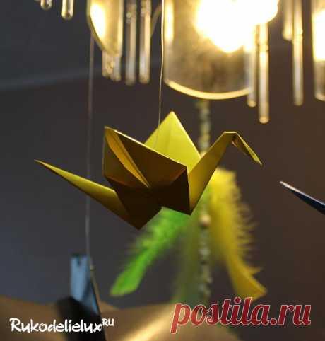 Журавль оригами из бумаги - 5 вариантов как сделать журавля своими руками с пошаговыми фото