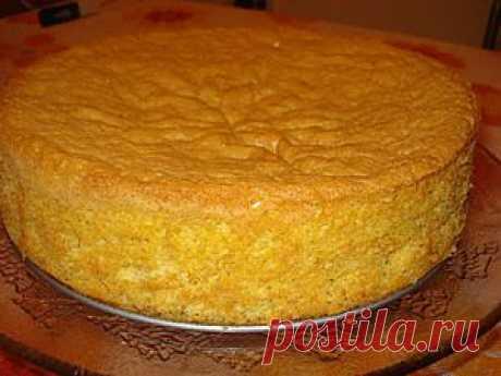 нежный высокий ванильный бисквит для торта. Рецепт c фото, мы подскажем, как приготовить!