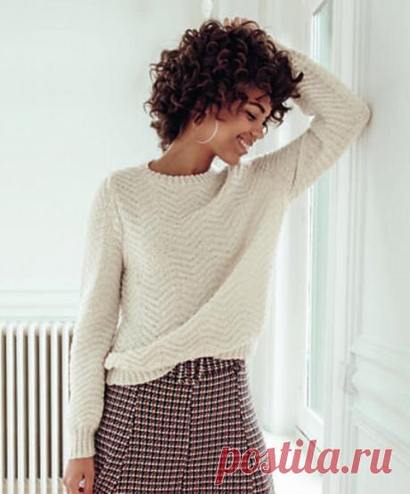 Вязаный пуловер Malaury | ДОМОСЕДКА