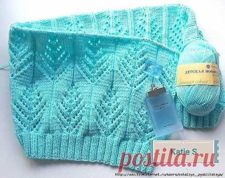 Красивый узор спицами — Красивое вязание