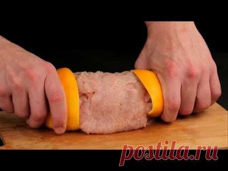 No vuelvo a preparar la carne sin naranjas, un sabor y un aroma perfecta. | Gustoso.tv
