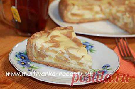Цветаевский яблочный пирог в мультиварке |