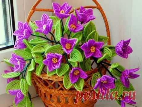 Как сделать цветы из бисера? Мастер классы по плетению разных цветов из бисера