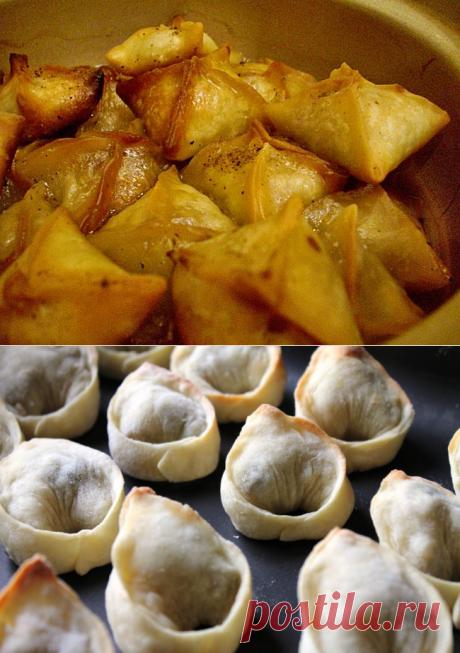 Кундюмы (кундюбки) - очень зимние и незаслуженно забытые блюда русской кухни   Четыре вкуса