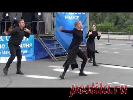 Vogue Dance Crew - Dance School SOL. Фан-парк Сумы EURO-2016 - YouTube