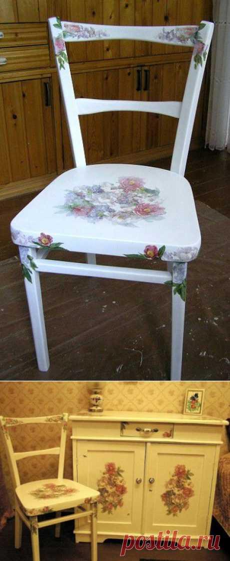 Эту мебель уже не выбросишь....