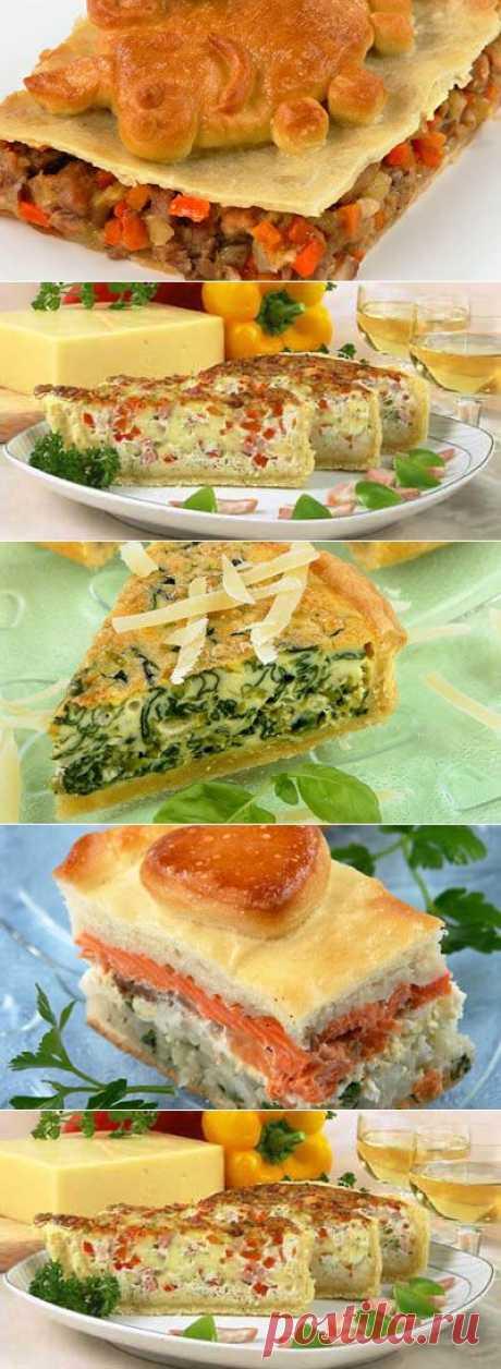 Рецепты вкусных пирогов для семейного обеда.