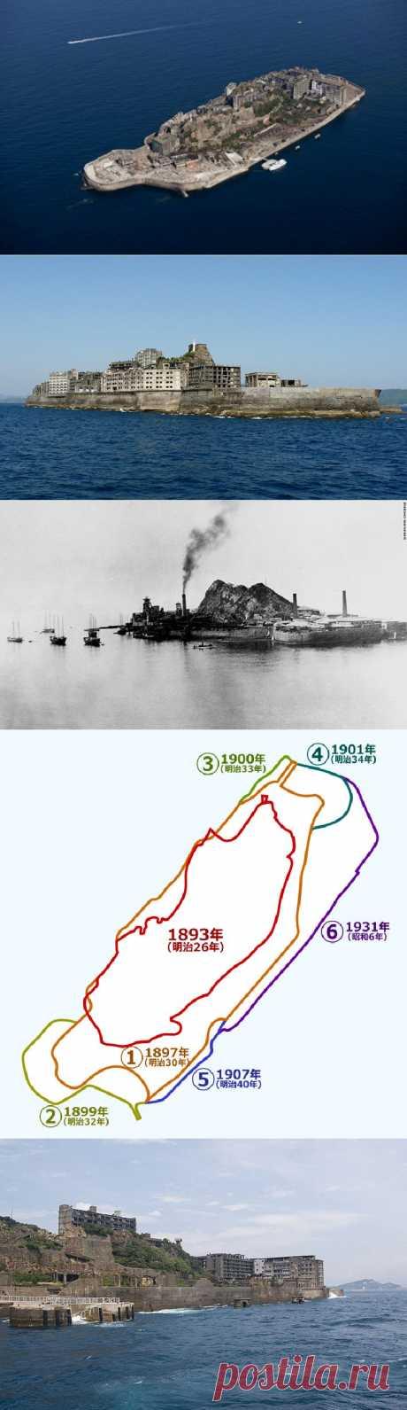 Заброшенный остров Хасима / Туристический спутник