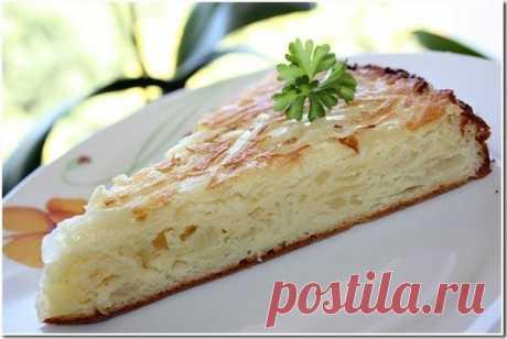 Ароматный капустный пирог — быстрее и проще не бывает!