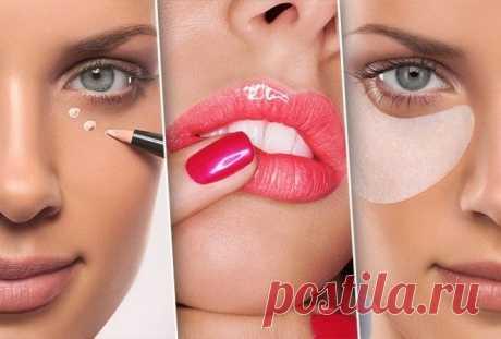 10 приёмов макияжа, которые сделают тебя значительно моложе