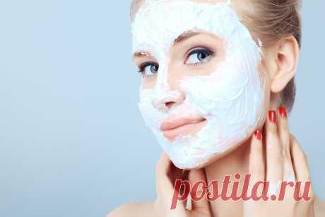 Натуральная маска для лица в домашних условиях для сужения пор