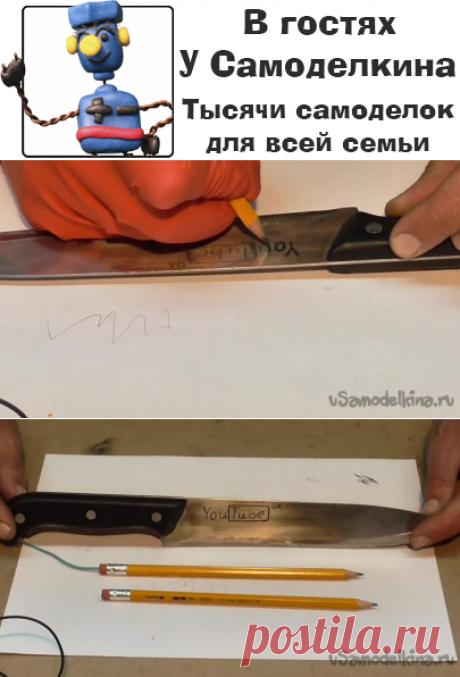 Делаем электрический карандаш для гравировки
