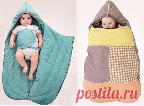 Спальный мешок для малыша. Выкройка (Шитье и крой) | Журнал Вдохновение Рукодельницы