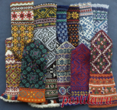 """Features lovely to heart: Jacquard knitting: \""""The Latvian mittens - woolen property of the country!\"""" (selection + collection of schemes)"""
