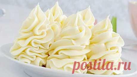 Сырный крем на сливках и белом шоколаде - Выпечка от Перчинки