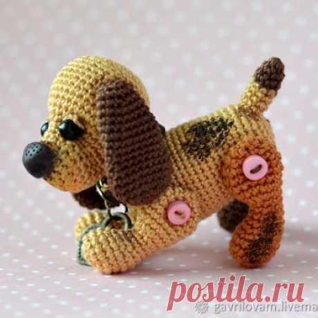 1000 схем амигуруми на русском: Собака Бусинка крючком