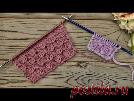 КРАСИВЫЙ УЗОР ДЛЯ ШАПОК, СНУДОВ, КАРДИГАНОВ! knittingpatterns