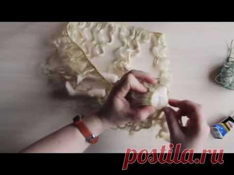 """Совместный пошив """"Принцесса золотых нитей"""" Часть 7. Прическа"""