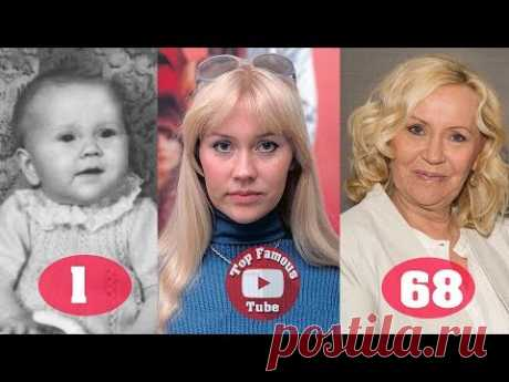 Agnetha Fältskog | ABBA | Transformation From 1 To 68 Years Old