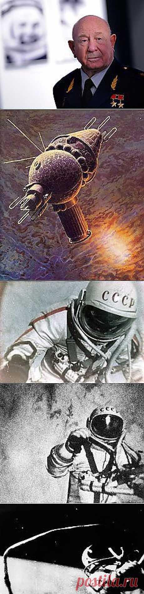 Первый в открытом космосе! | НАУКА И ЖИЗНЬ | апельсин   Кстати , это мой земляк !